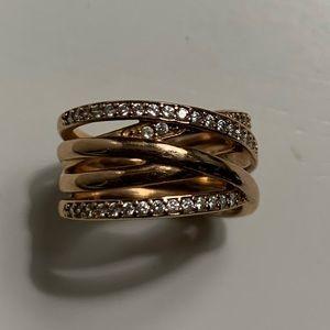 Pandora rose gold ring 5